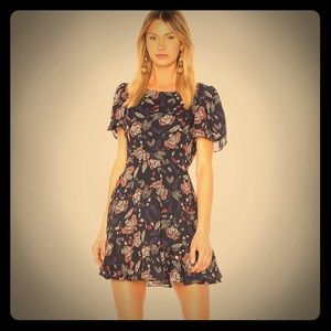 Bb Dakota Cassidy Fall Flowered Dress